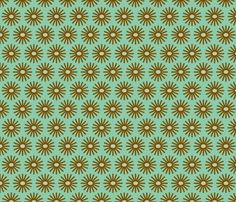 fireworks_mint fabric by holli_zollinger on Spoonflower - custom fabric