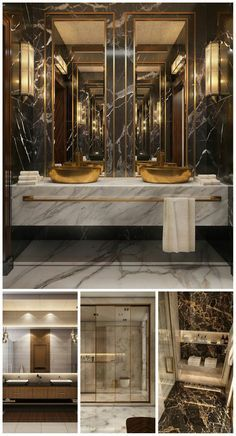 Glamorous and exciting luxury bathroom interior decor needs the perfect lighting fixture.   See our entire collection at luxxu.net   #bathroom #interiordesign #luxury #luxuryhomes #bathroomideas #lighting