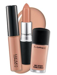 "MAC's Most Popular Colors Ever: ""Myth"" (a classic beige) #lipstick #lipgloss #makeup"