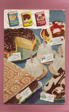 I have many of these old cookbooks.  My grandmother gave them to me years ago!