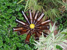 Beer Bottle Blossom: The Daisy