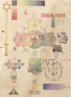 The Occult Cartography    The magic and painting of Fredrik Söderberg.
