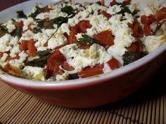 Uma receita leve, fácil e deliciosa com berinjela!  http://www.deliartcakecreations.com/2012/04/beringela-light.html