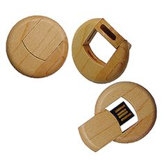 Round Wood MEMORY STICK.  Search results for providers (where you can get them) of such Promotional/customized MEMORY STICKS/USB Drives/plugin drives/Flash Drives: http://shopads.whw1.com/?q=promotional+memory+sticks  Everything from cute, to crazy, to unbelievable and awesome BUSINESS GIFTS by providers of search results.
