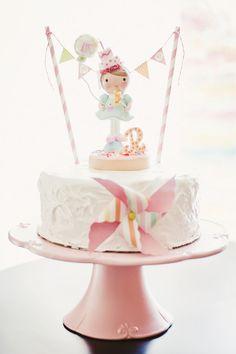 Charming Polka Dot & Pinwheel First Birthday Party