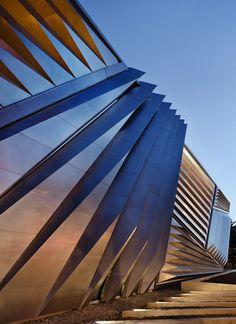 Zaha Hadid's Eli and Edythe Broad Art Museum unveiled