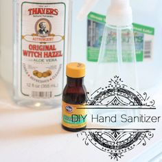 #DIY Hand Sanitizer recipe