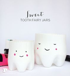 Sweet Tooth Fairy Jars by Pysselbolaget