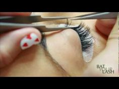 How Eyelash Extensions are done