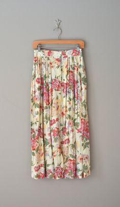 floral skirt | Hanging Garden skirt