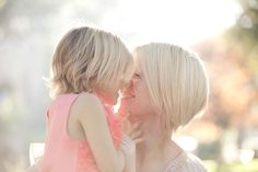 mommy and daughter Photo