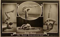 anita bonne,dutch contortionistgirl    l940ies