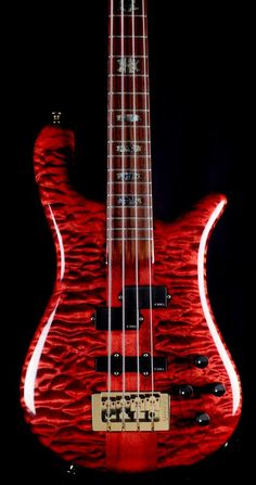 Black cherry Spector Bass