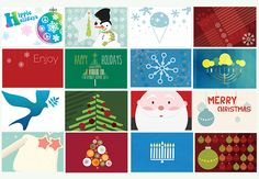 Free Holiday Printables with Matching Predesign Gift Cards. Great for Christmas and Hanukkah