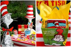 Dr. Seuss Birthday Party on a Budget! on http://pizzazzerie.com
