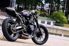 Thruxton Cafe Racer by Medusa Fabrication
