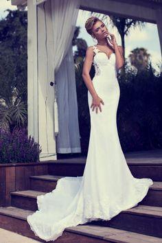 evening dresses, wedding dressses, vintage weddings, fashion styles, nurit hen, dress wedding, summer wedding dresses, gown, summer weddings