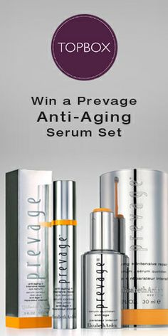 Get in to #Win a #Prevage Anti-Aging #Serum Set! #beauty #competition VALID UNTIL MAY 12