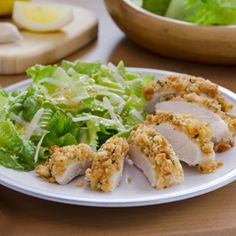 Easy Cesear Crusted Chicken from Hellmans