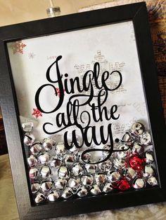 Jingle All the Way Christmas Craft Tutorial