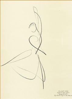 """""""Allegro Brillante"""" Elisabeth Platel, 1996 Paris Opera Ballet by Stanley Roseman"""