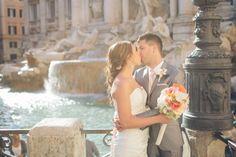 A stunning destination wedding in Rome