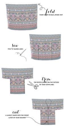 Kimono DIY tutorial