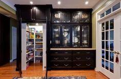 Hidden pantry...