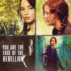She is the face of the Rebellion