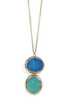 Crystal-like necklace