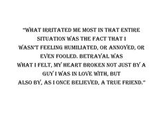 betrayed by my best friend essays