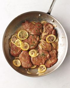 Garlic-Lemon Pork Recipe from Martha Stewart Living. Pinning this because we have lots of good beef recipes and several good chicken recipes, but we dont do pork very often. This could help mix things up!