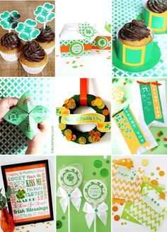 St. Patrick's Day Free Party Printables