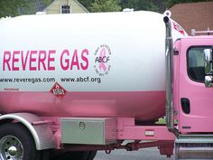 Pink Gas Truck