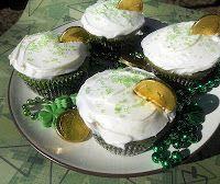 Green Velvet Cupcakes great for St. Patrick's Day!