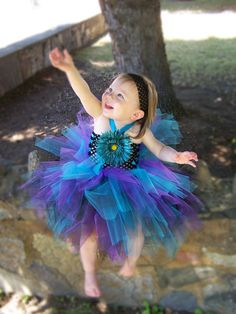 can my baby be a tutu peacock?