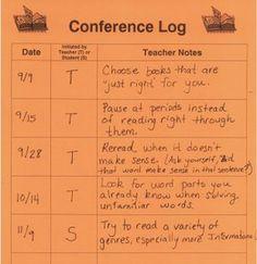 classroom, idea, logs, readers workshop conferring, reader workshop