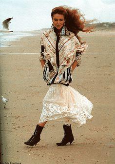 1980s Australian fashion - Evelyn Neis