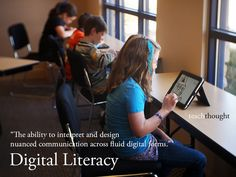 The Definition of Digital Literacy by Erin Klein.