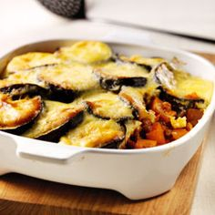 vegetable and lentil moussaka
