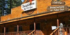Neighbors Bar-B-Que in Cromberg  Plumas County, Ca