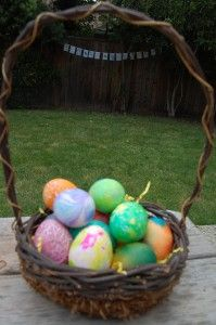 Easter Eggsperiments...a bunch of different ways to dye eggs.