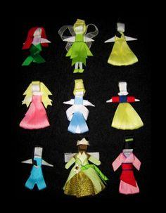 Princess hair clippies