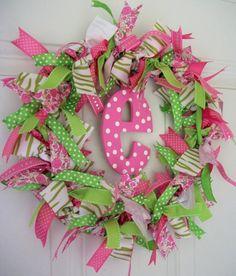 DIY Ribbon Tie Wreath