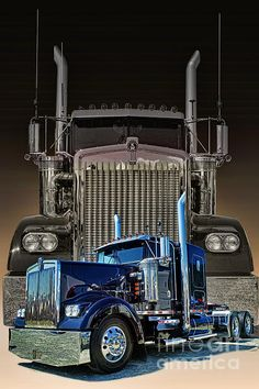 Here is a custom photo I did at the Big Rig Weekend Truck Show in Chilliwack, B.C. last week. Double click on the photo for more info.  www.rharrisphotos.com big truck, kenworth trucks