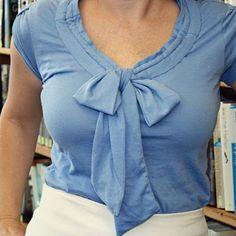 bow shirt tut