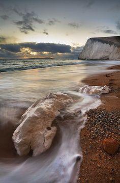 Bats Head, Dorset, England
