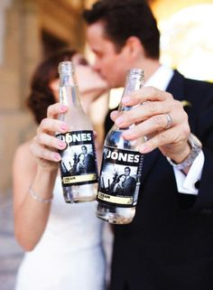 personalized Jones Soda bottles :)  Love it!