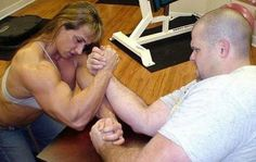 Think she knows how to get #rid of #flabby #arms.......