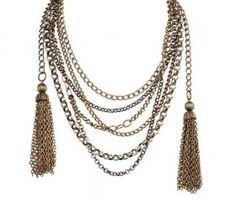 Charlie Tassel Necklace